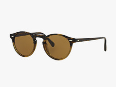 OLIVER PEOPLES - 5217 S - GREGORY PECK SUN - Tortoise